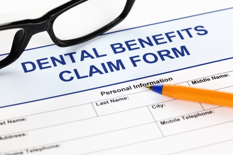 Form used to maximize dental insurance benefits in Mesquite
